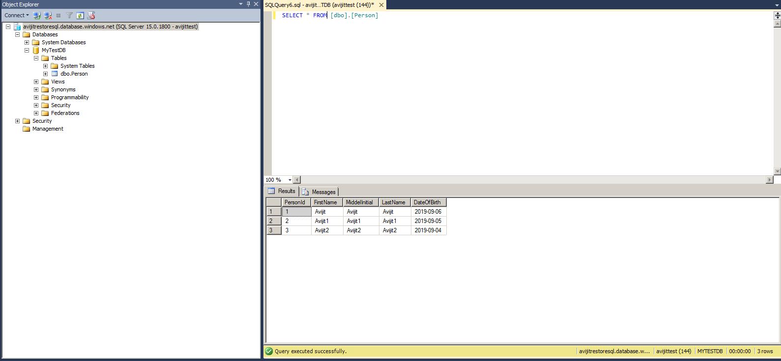 BetterConcepts Backup & Restore in Azure SQL Database