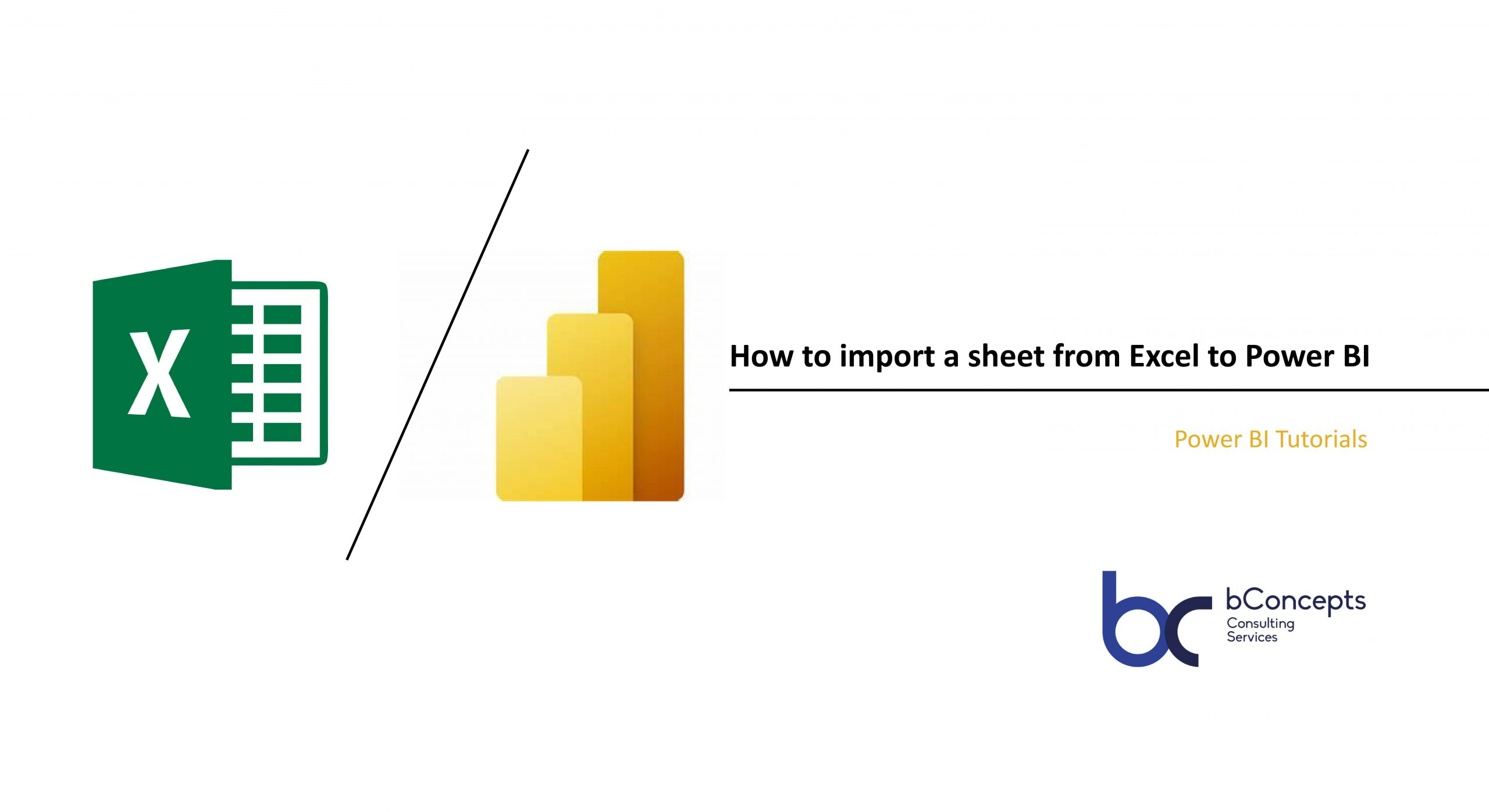 Import from Excel to Power BI
